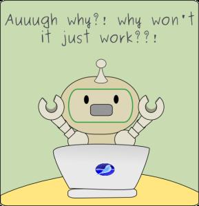 upsetrobot